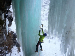 Cascades de glace et alpinisme d'hiver
