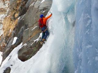 École de glace et randonnée glaciaire