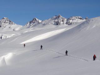 Randonnée Raquette à neige