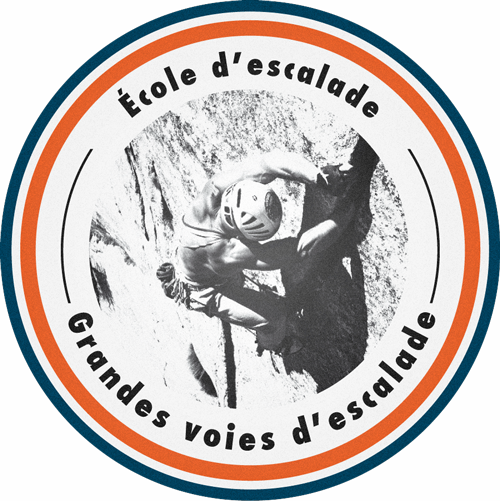 École d'escalade / Grandes voies d'escalade